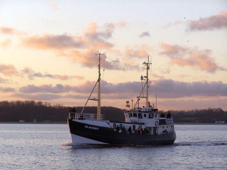 Laboe Silvester - Kieler Foerde - Fischkutter