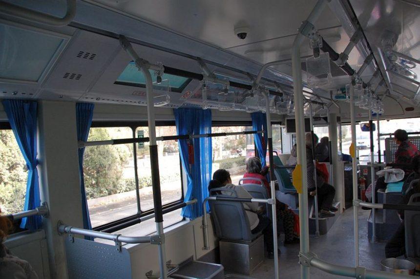 Anyang - mit dem Bus unterwegs