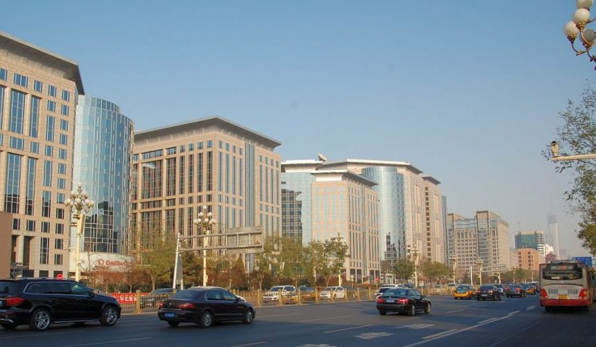 Peking innenstadt