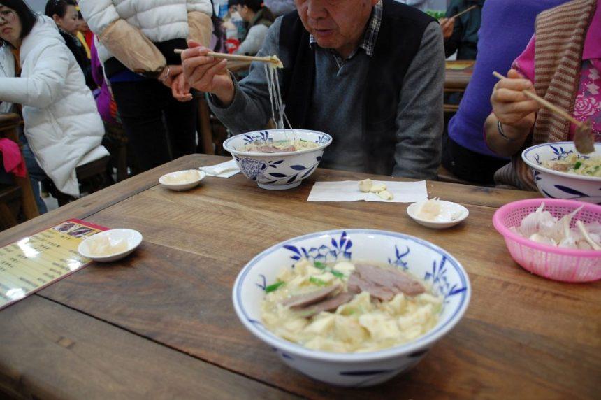 Xi'an Brotsuppe im Muslim-Viertel