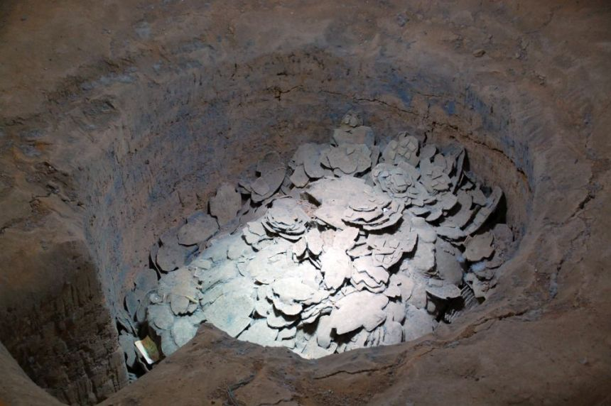 ausgegraben in China: Orakelknochen
