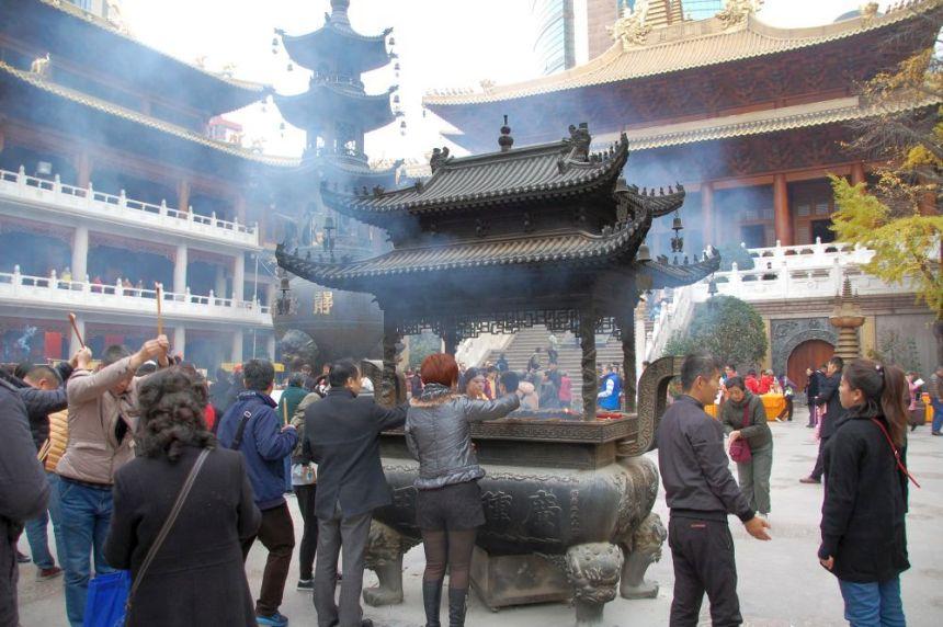 Jing'an Tempel Shanghai
