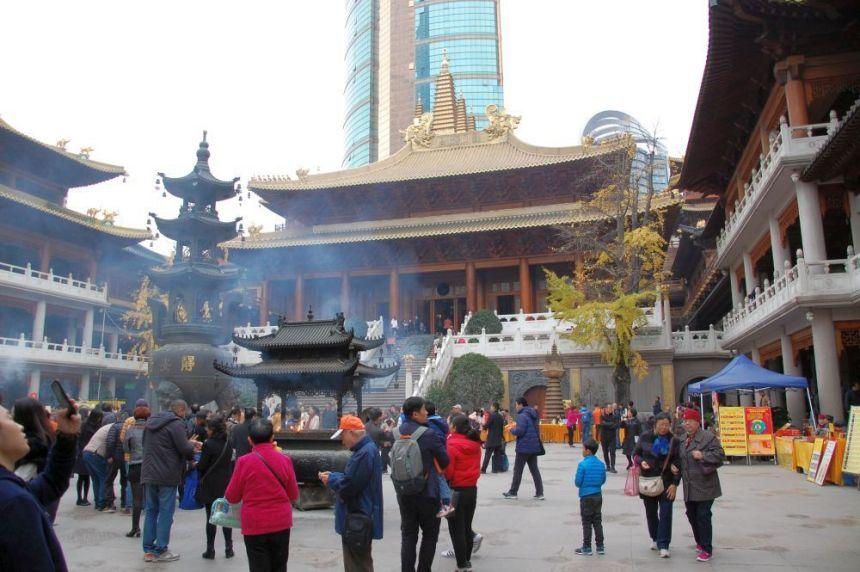 Jing'an Shanghai Tempel