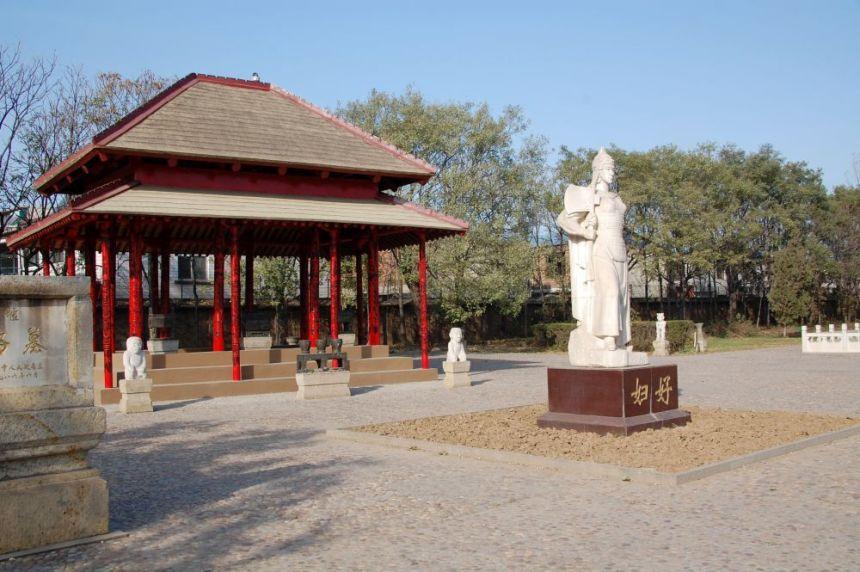 Statue von Fu Hao in Anyang