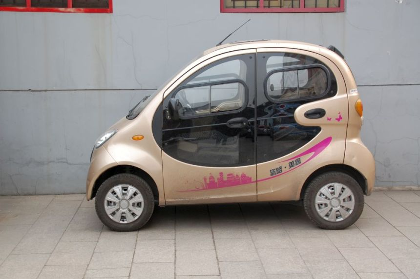 Elektro-Auto in Peking