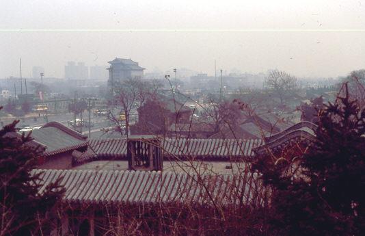 1988 Peking im Smog
