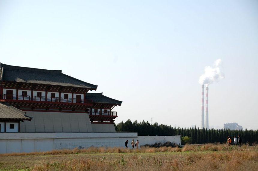 Südtor des Han Yang Ling