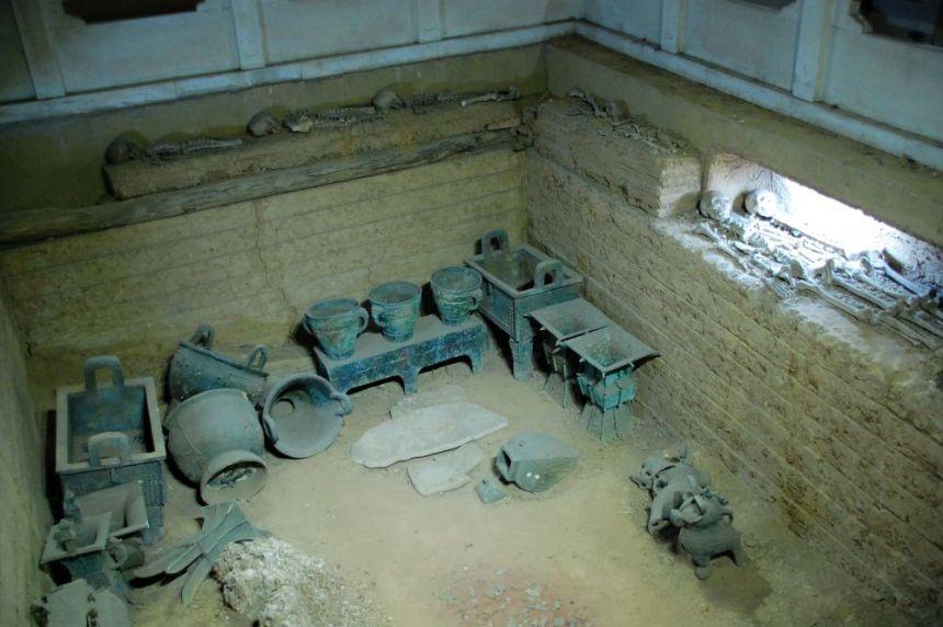 Bklick in das Grab der Fu Hao