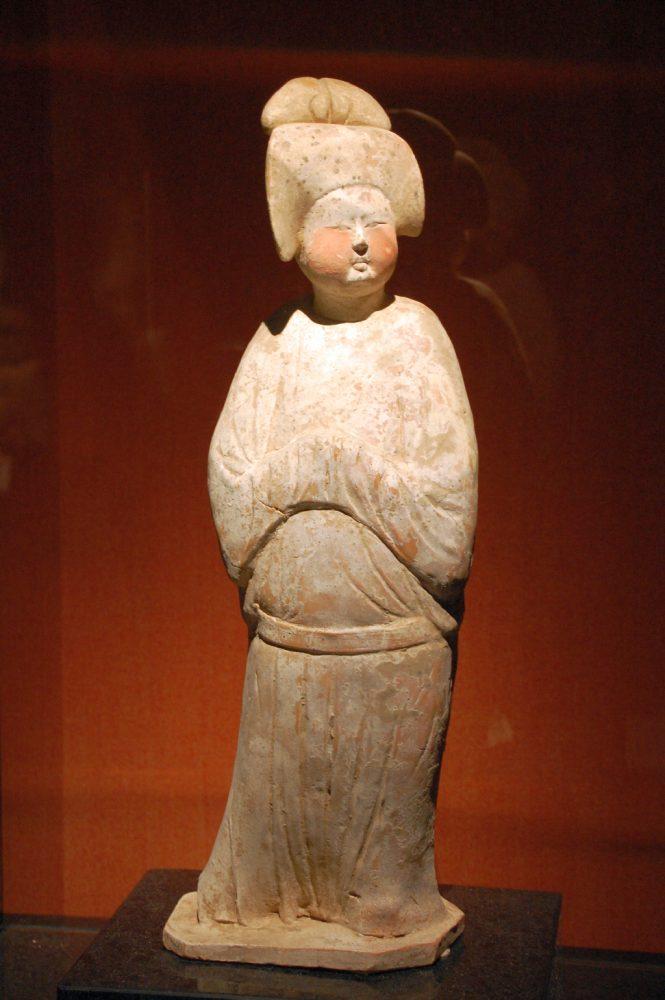 Shanghai Museum Figur aus der Tang-Dynastie
