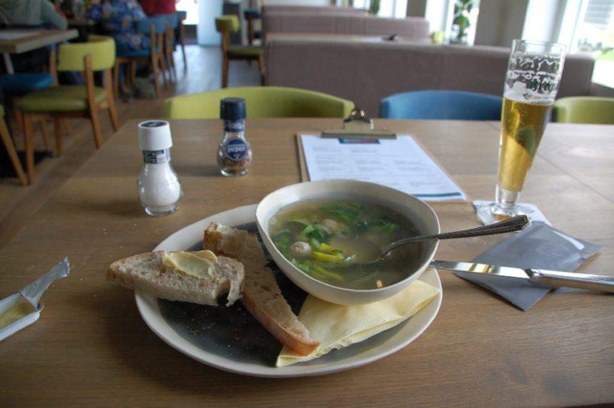 Lecker Suppe in Schokland