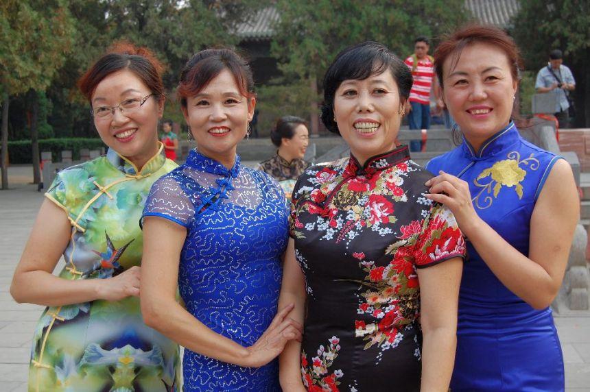 Qipao in Shanxi