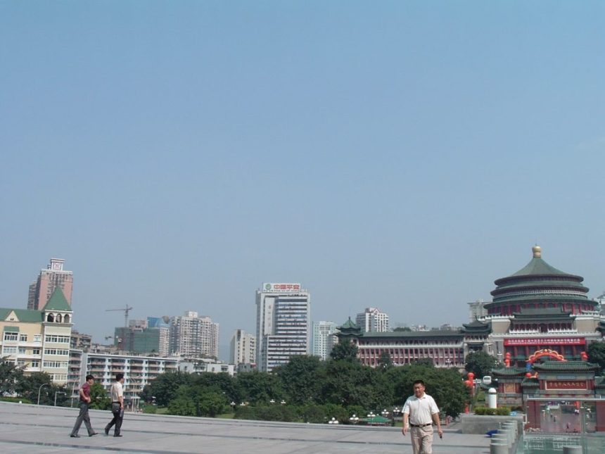 Chongqing Kongresshalle