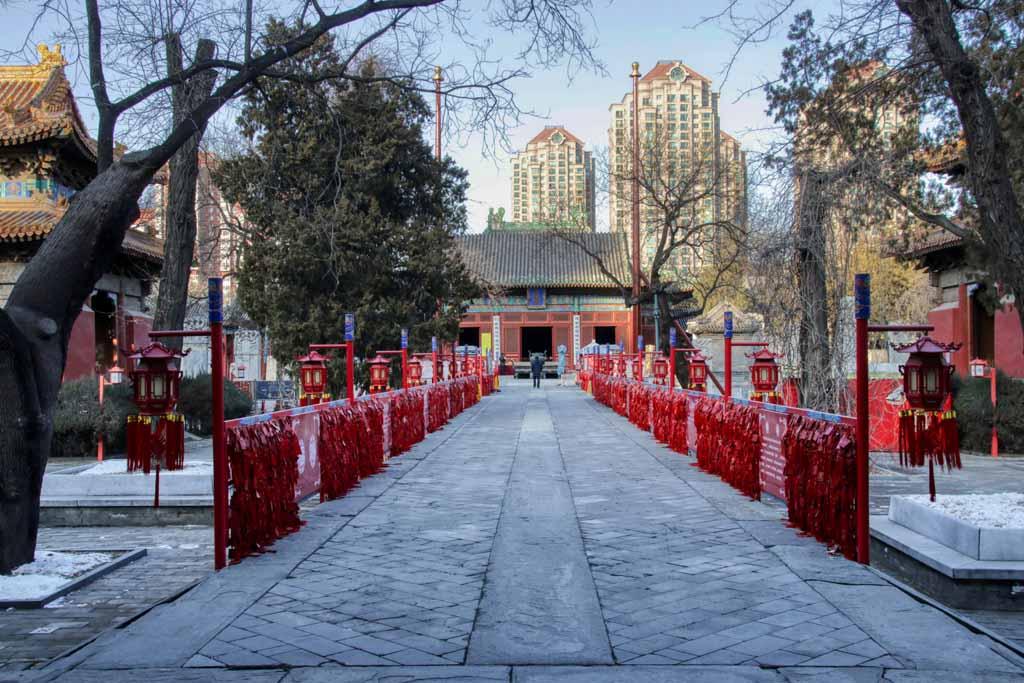 Dongyue Tempel Peking