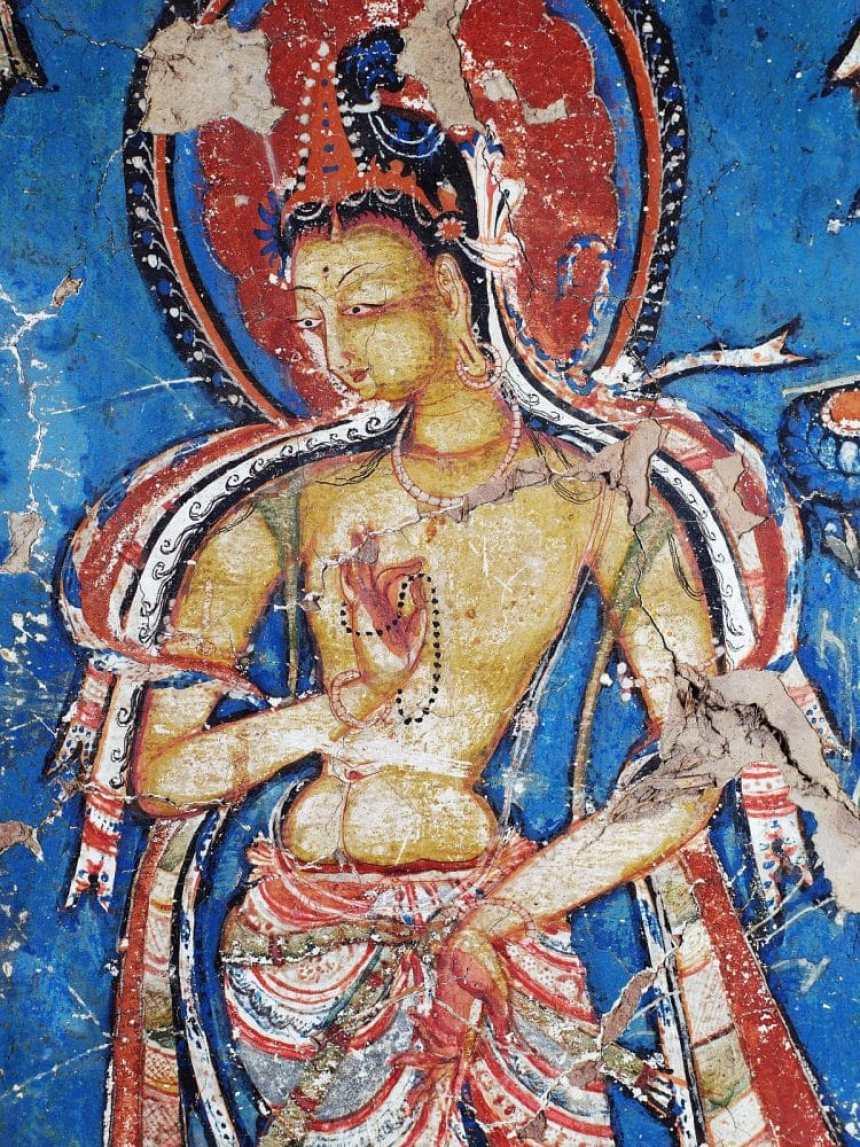 Kloster Alchi Bodhisattva