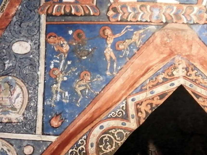 Alchi Kloster - erster Stock