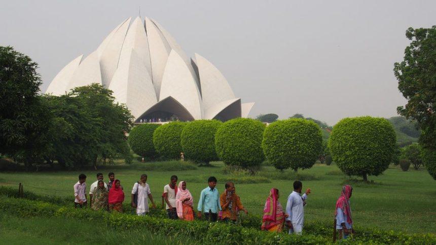 Bahai Tempel in Delhi