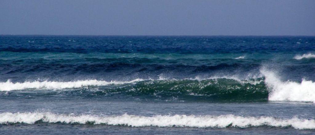 Meer bis zum Horizont steht für Fernweh.