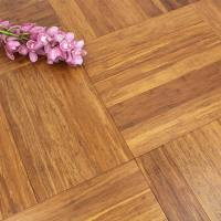 Solid Carbonised Strand Woven 90mm Parquet Block BONA Coated