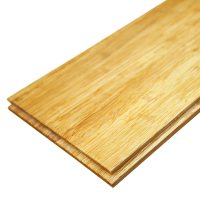 Solid Natural Strand Woven 142mm Bamboo Flooring 1.58m FSC1