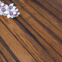 Carbonised Solid Strand Woven Bamboo Flooring Uniclic