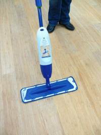 Can I clean my bamboo floor with a steam mop? | Bamboo Floo