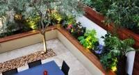 Greek Style Garden Design Chelsea, London   Bamboo Landscaping
