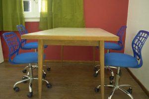 Mesa compartida Coworking