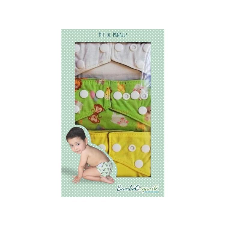 Kit de pañales infantiles