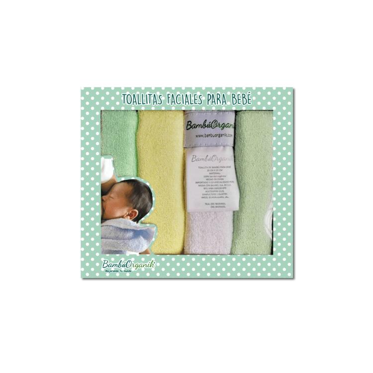 Toallitas faciales para bebé