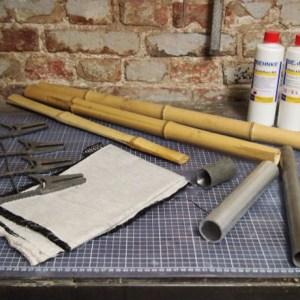 Material Bambusfahrrad