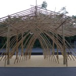 Bambus Skulptur Malkasten ©Kruno