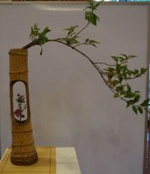 Ikebana-Bambus