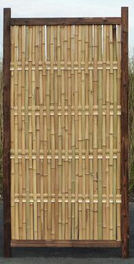Sichtschutz aus Bambus CONBAM