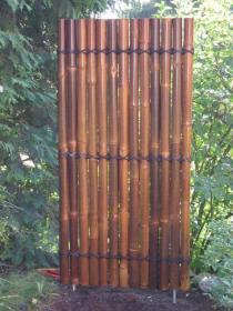 Bambuszaun Bambusexperte