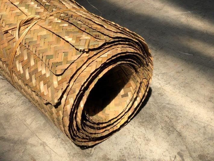 Bambus-Flechtmatte aus Bambusstreifen von CONBAM