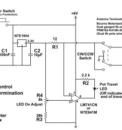 motorized potentiometer for remote control variable termination [ 1260 x 938 Pixel ]