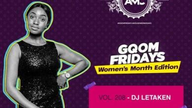 Dj Letaken – GqomFridays Mix Vol 208 (Women's Month Edition) Mp3 Download