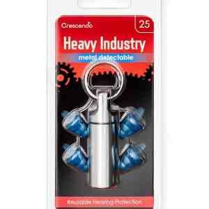 Heavy Industry 25 Metal Detectable