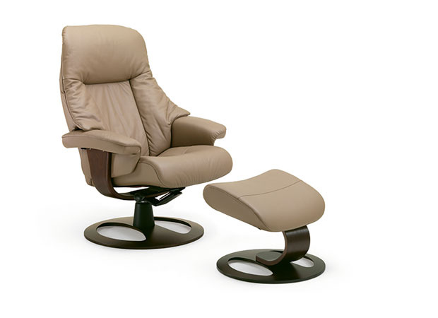 ergonomic chair and ottoman covers ivory fjords alfa recliner (large) | bana home decors & gifts