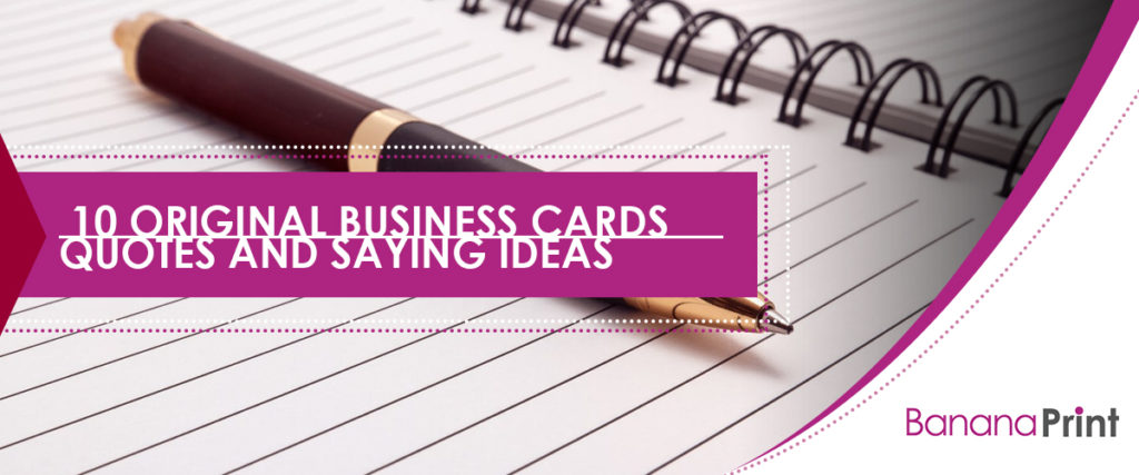 10 original business cards