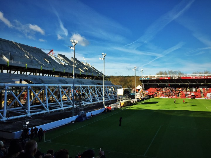Pic of the weekend Ashton Gate