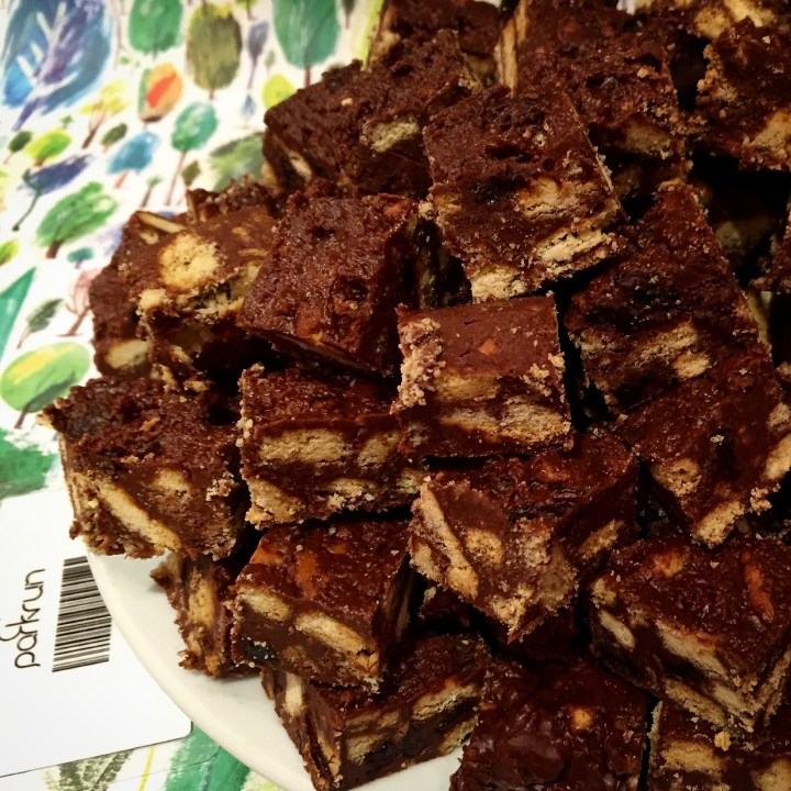 Picture of delicious tiffin squares