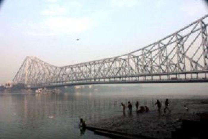 The scenic beauty of Ganga River- Kolkata