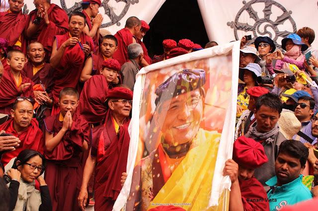 Gyalwang Drukpa- head of drukpa lineage