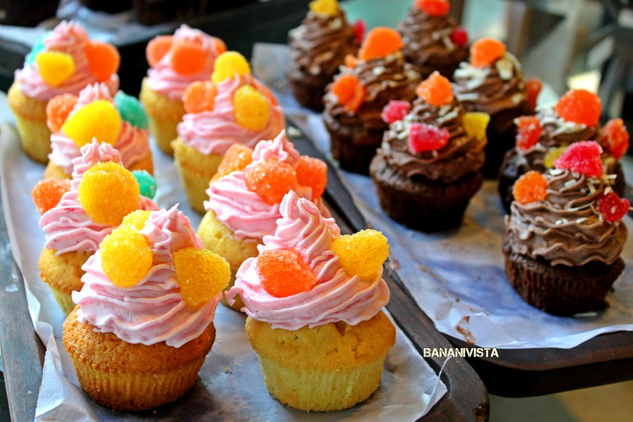 Colourful Muffins