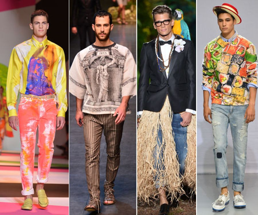 Men are embracing the fashion game
