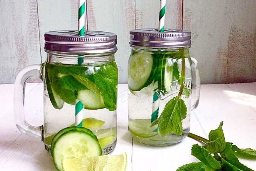 The Greeny Punch Detox Water