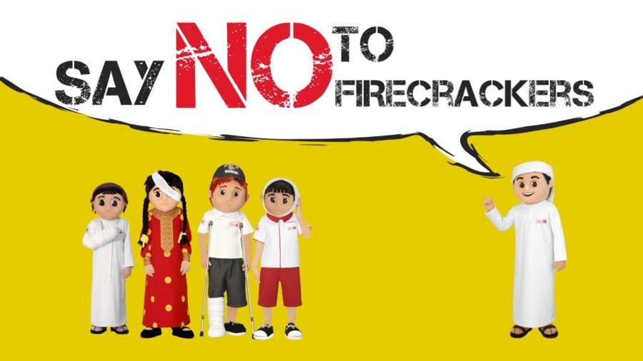 Say no to fireworks