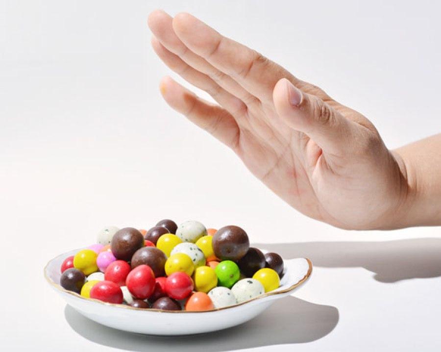 """Say """"No"""" to sugar"""