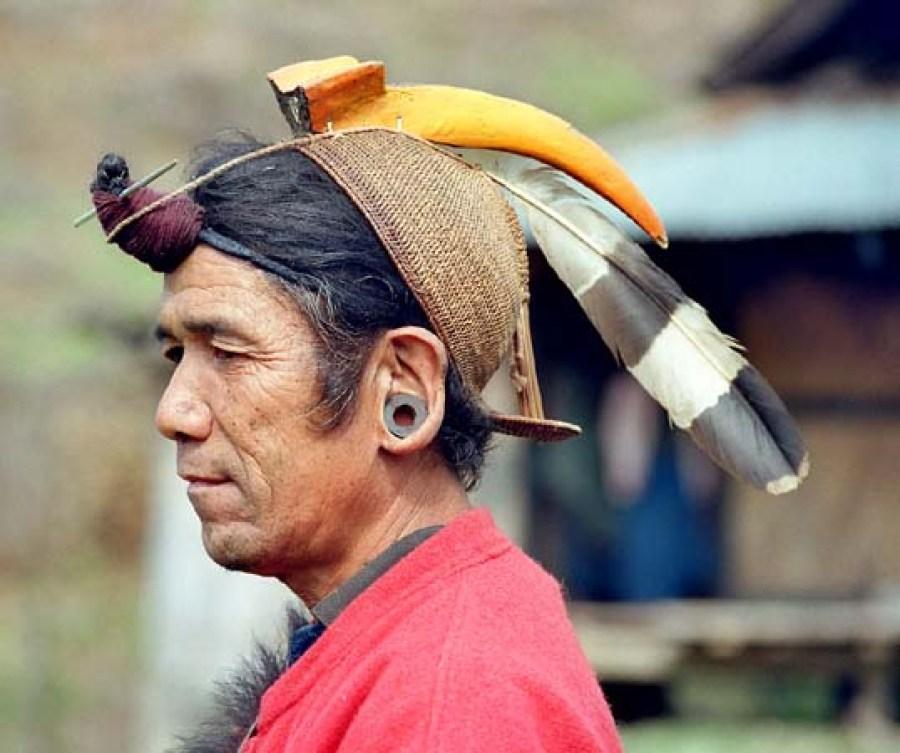Man of Nishi tribe